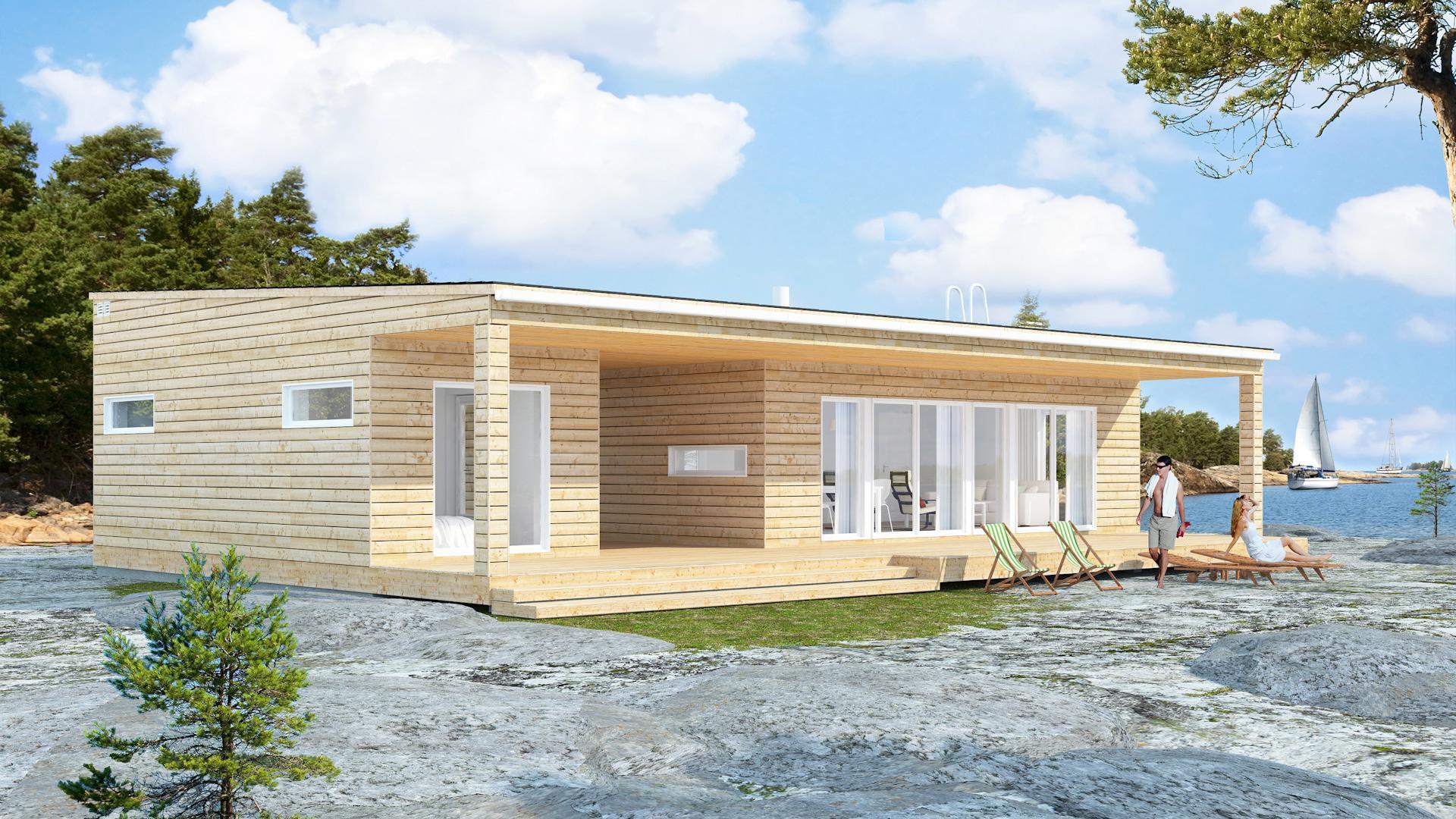 Design-Talo Taivassalo