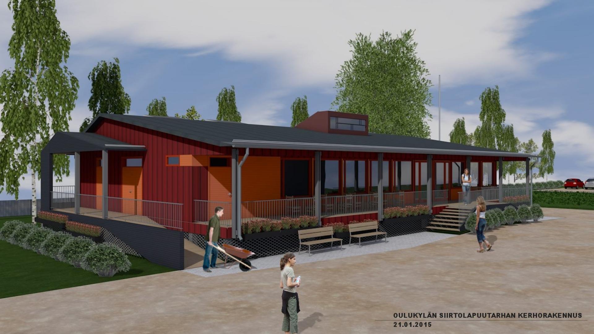 Oulunkylä garden society club house